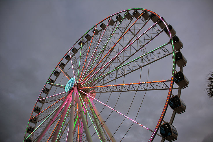 The Skywheel In Myrtle Beach Sc