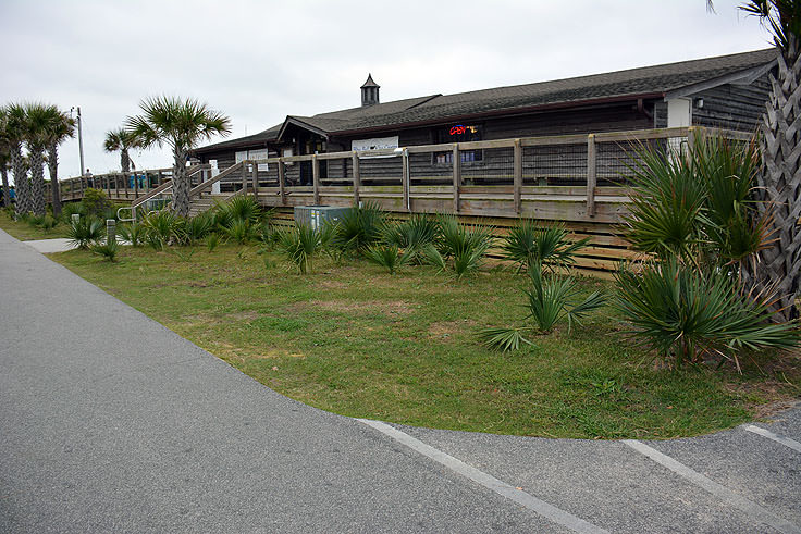 A gift shop at Myrtle Beach State Park's Fishing Pier
