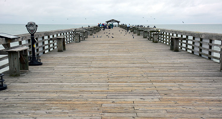 Myrtle Beach State Park fishing pier