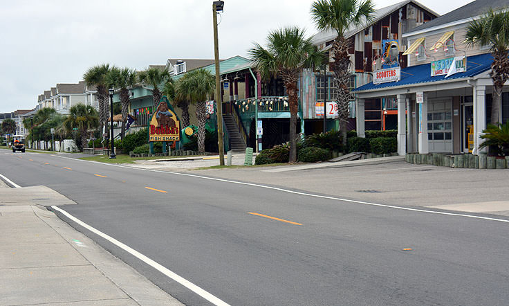 Downtown Surfside Beach, SC