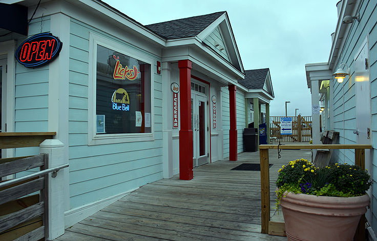 Shops and eats at Surfside Pier in Surfside Beach, SC