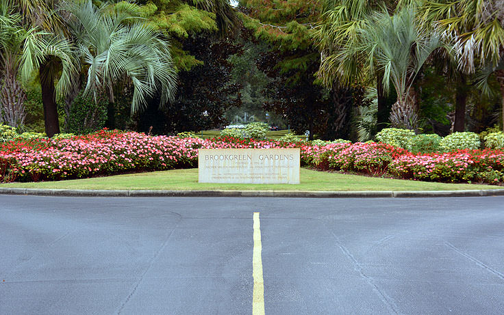 The entrance to Brookgreen Gardens in Murrell's Inlet, SC