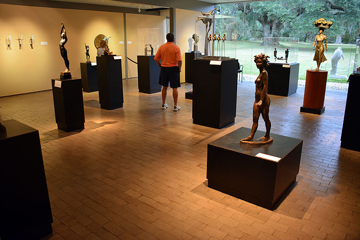 Sculpture gallery at Brookgreen Gardens in Murrell's Inlet, SC
