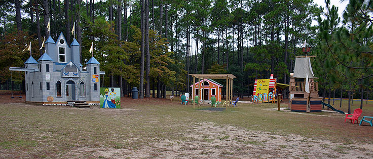 Storybook Forest at Brookgreen Gardens in Murrell's Inlet, SC